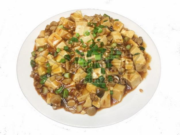 一盘麻婆豆腐288346png免抠图片素材 生活素材-第1张