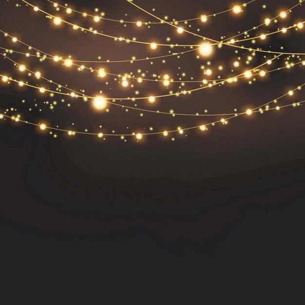 创意彩灯带发光灯光效果342481PSD免抠图片素材