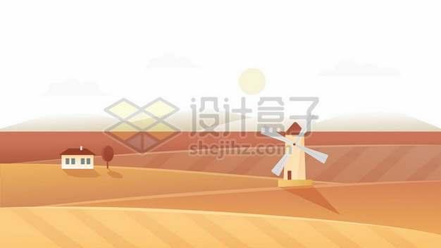 秋天的田野农村草原125696png免抠图片素材