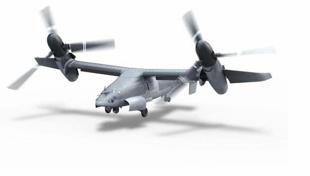 新型V-22倾转旋翼机未来高速直升机195114png图片免抠素材