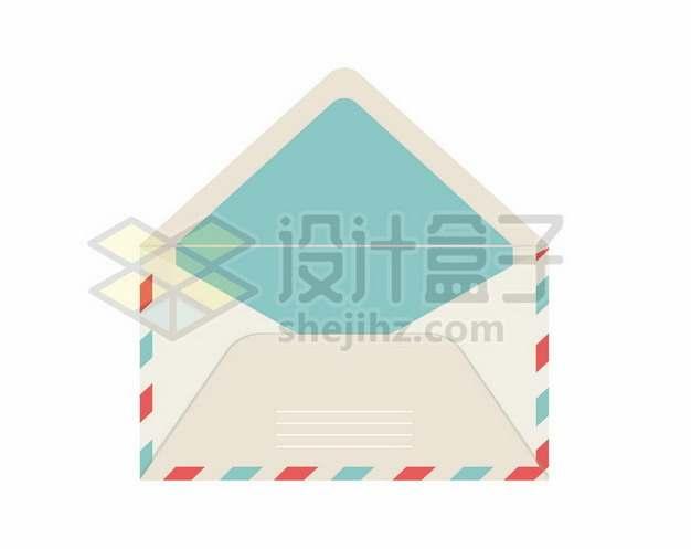 打开的信封252331矢量图片免抠素材