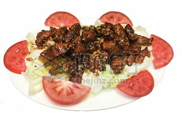 辣炒牛肉粒725657png免抠图片素材 生活素材-第1张