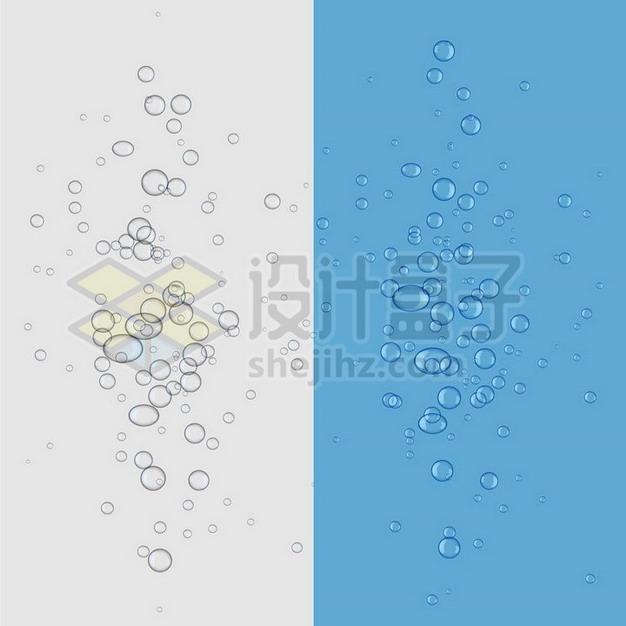 水中冒出来的气泡水泡879469png矢量图片素材 漂浮元素-第1张