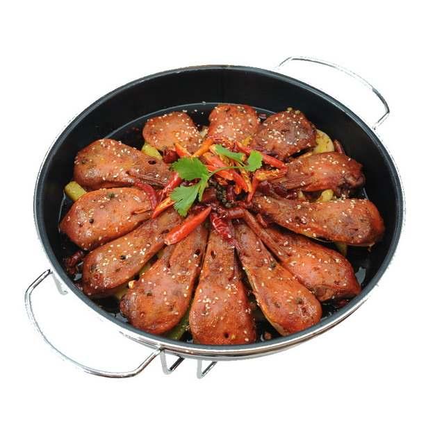 干锅鸭头美味美食102088png图片素材