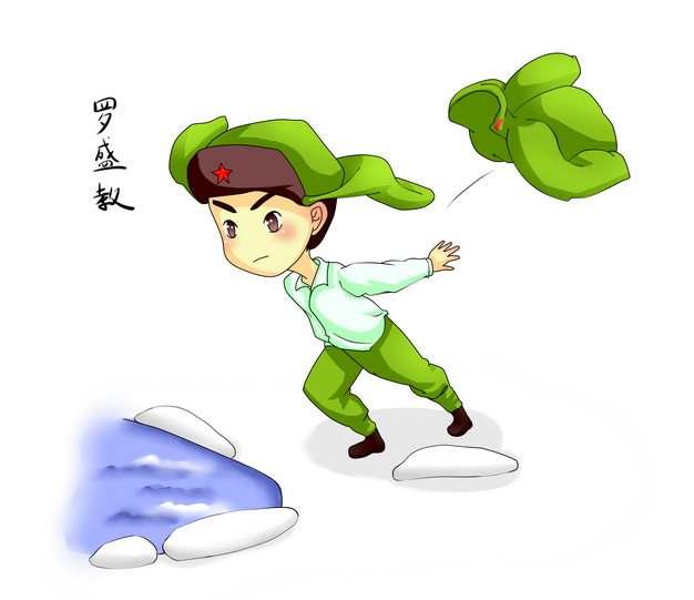 抗美援朝中国人民志愿军英雄罗盛教烈士的故事702927png图片免抠素材