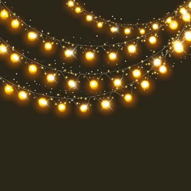 创意彩灯带发光灯光效果961349PSD免抠图片素材