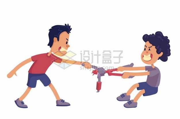 抢夺小朋友的玩具校园霸凌540871png矢量图片素材
