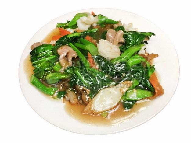 青菜牛肉海鲜189668png免抠图片素材 生活素材-第1张