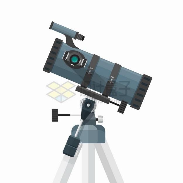 反射天文望远镜侧视图7493295png图片素材 科学地理-第1张
