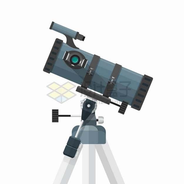反射天文望远镜侧视图7493295png图片素材