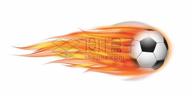 冒火的足球430896png免抠图片素材
