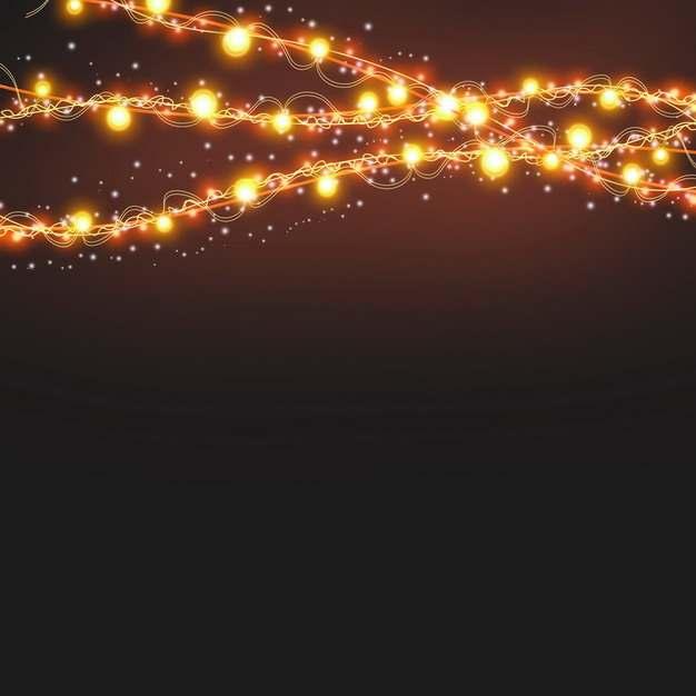 创意彩灯带发光灯光效果231195PSD免抠图片素材