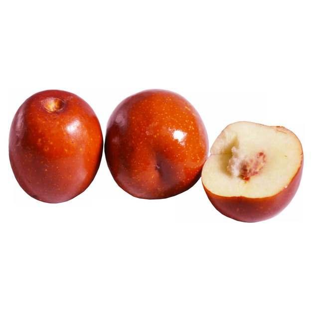 三颗红枣大枣448827png免抠图片素材