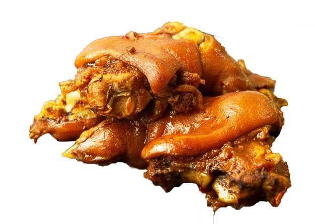 酱猪蹄美味红烧猪蹄496679png图片免抠素材