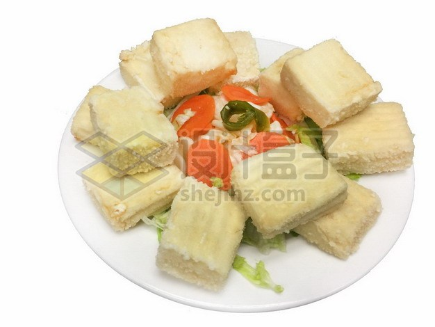 炸豆腐727839png免抠图片素材 生活素材-第1张