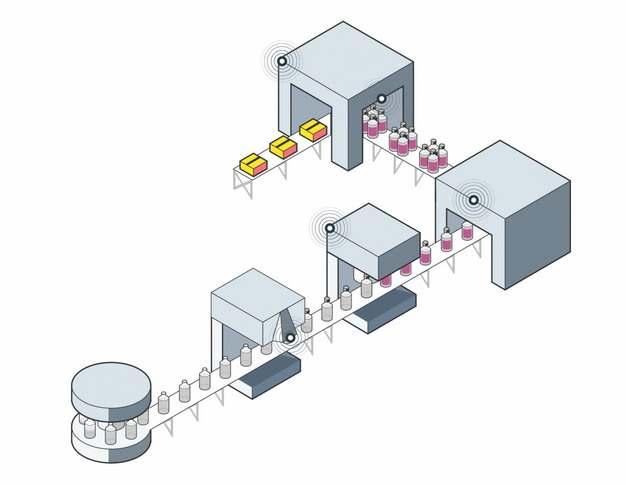 工厂产品生产流水线282985png图片免抠素材