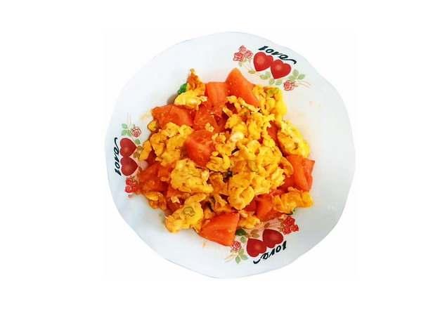 一碗美味的西红柿炒鸡蛋134859png图片素材