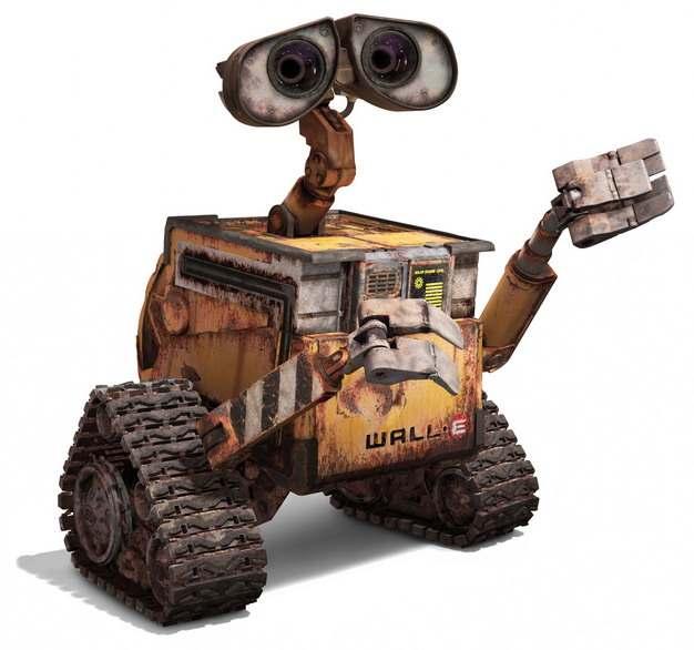 机器人总动员里面的可爱瓦力机器人657228png图片免抠素材