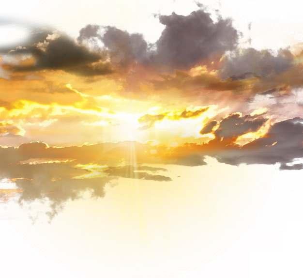 晚霞火烧云日出云层风景图205304png免抠图片素材