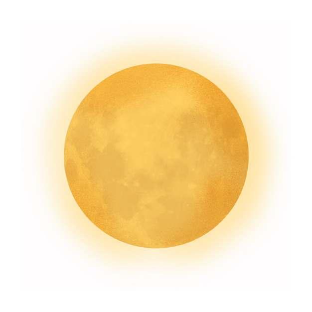 中秋节黄色的月亮满月741910免抠图片素材