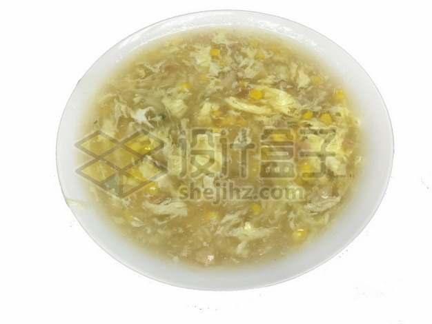 玉米鸡蛋汤809011png免抠图片素材