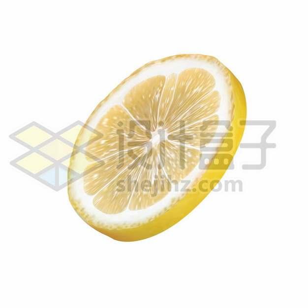 切片的黄柠檬美味水果342611png免抠图片素材