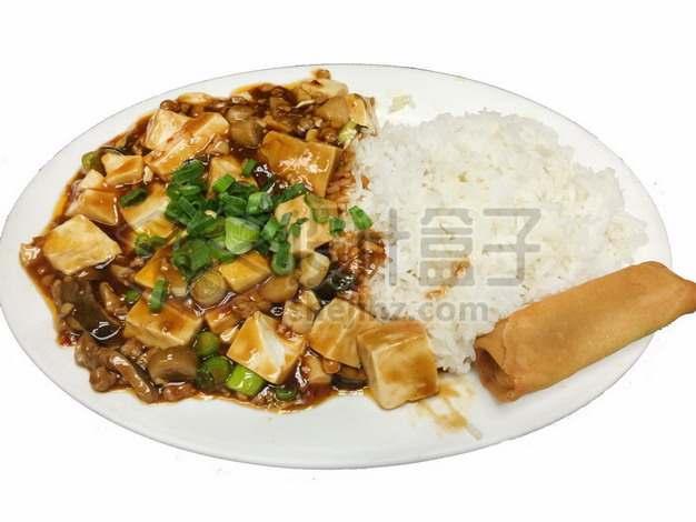 麻婆豆腐盖浇饭193987png免抠图片素材