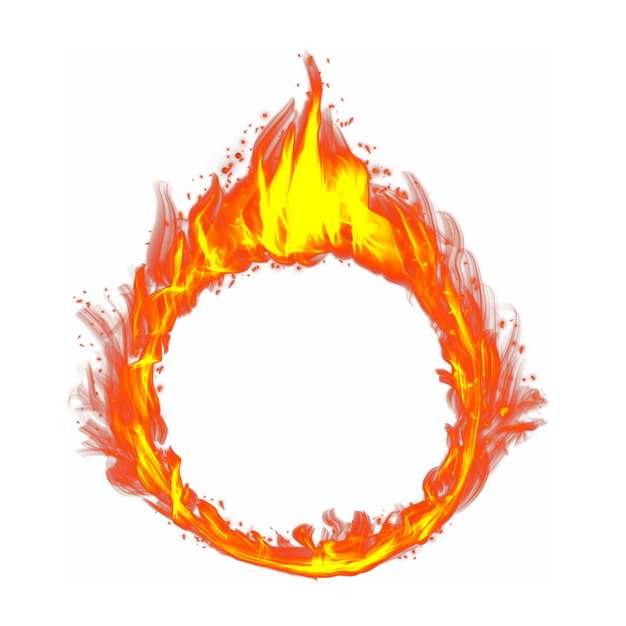 燃烧的火焰火圈961795png图片免抠素材