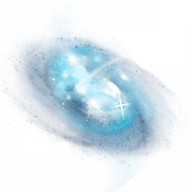 旋转的漩涡星系银河系图片免抠素材500052