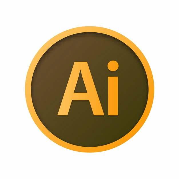 adobe设计软件的AI图标logo圆形标志663207图片免抠素材