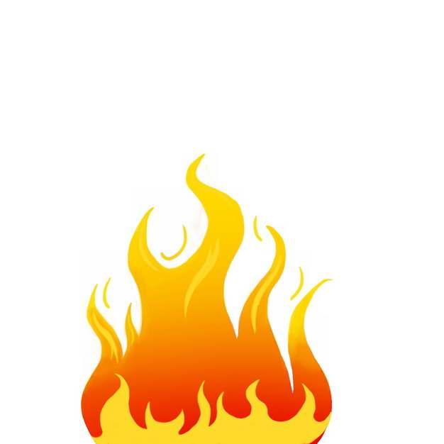 燃烧的火焰小火苗图案672944免抠图片素材