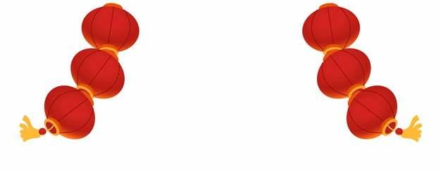 新年春节庆典红色灯笼装饰948759图片素材