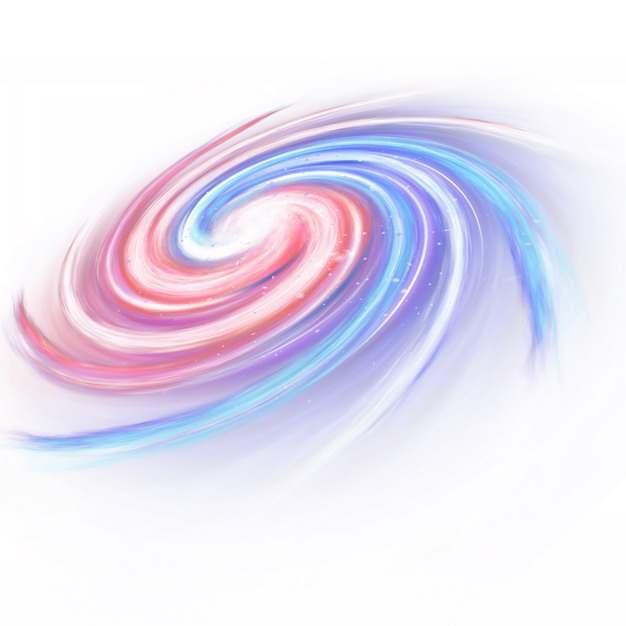 五颜六色彩色的银河系漩涡星系441778png图片素材