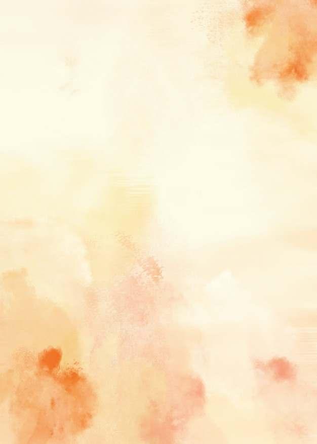 黄色橙色水墨风格竖版背景图586204