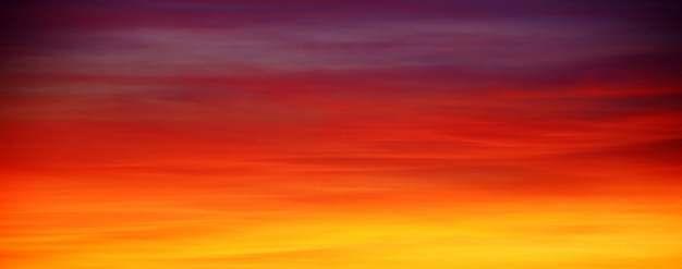 日落火烧云落霞背景图片145205