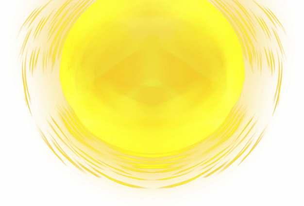 巨大的黄色太阳手绘涂鸦插画704969图片素材
