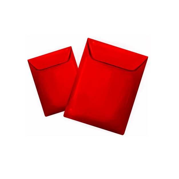 两个大红色的新年春节红包152853png图片素材
