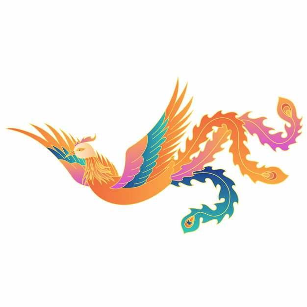 中国风凤凰神鸟473322图片免抠素材