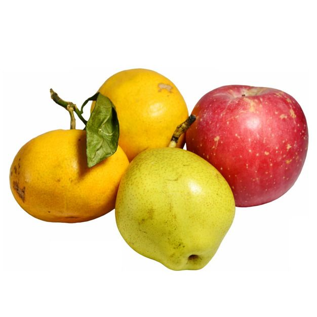 橘子红苹果和梨子420083图片素材