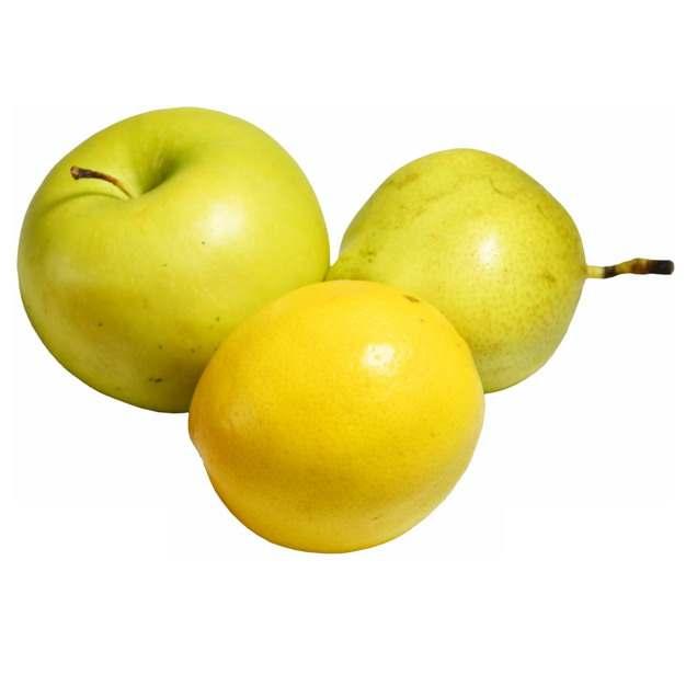青苹果梨子和黄柠檬976281图片素材