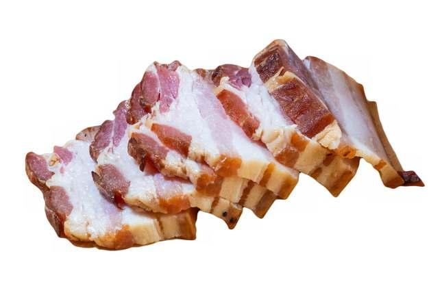 切片的五花肉咸肉美味腌肉腌制品203130图片素材