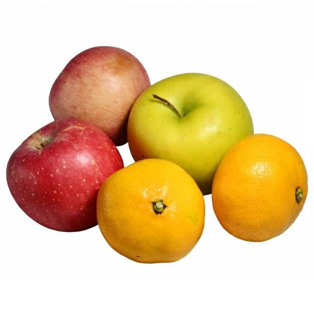 红苹果青苹果和橘子547110图片素材