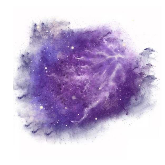 紫色的星云爆炸效果烟雾效果303912图片素材