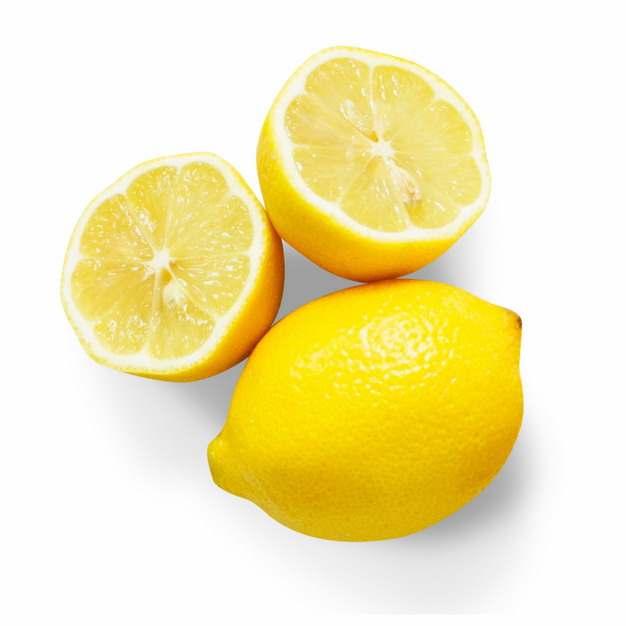 切开的黄柠檬美味水果597200图片素材