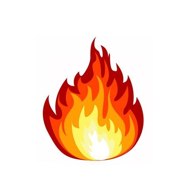 一款燃烧的火焰火苗效果图案319987png图片素材
