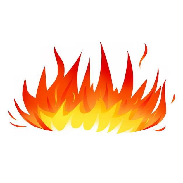 燃烧的卡通火焰火苗图案955348图片素材