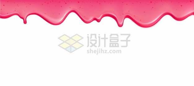 流淌的红色蜜糖液体效果564158图片免抠矢量素材