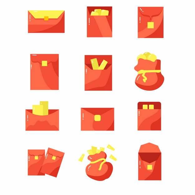 12款卡通红包图案932079图片素材