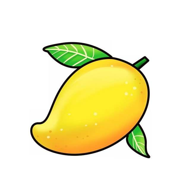 卡通芒果手绘插画266451免抠图片素材