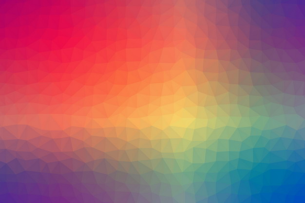 彩色渐变色多边形马赛克风格背景图片224134 背景-第1张